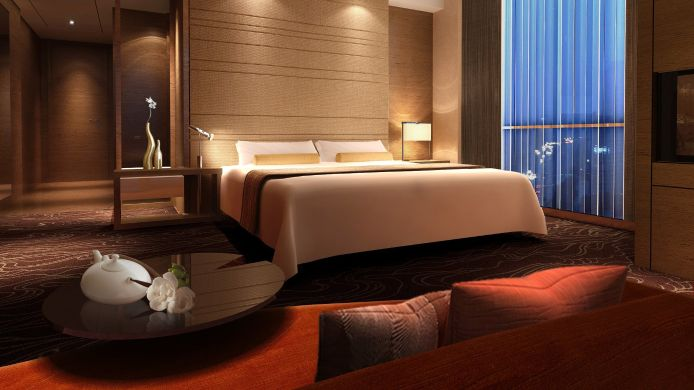 Room Crowne Plaza WUXI TAIHU