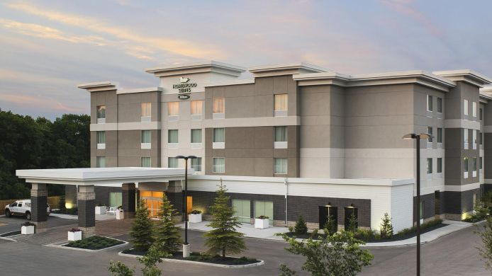 Exterior view Homewood Suites by Hilton Winnipeg Airport-Polo Park MB
