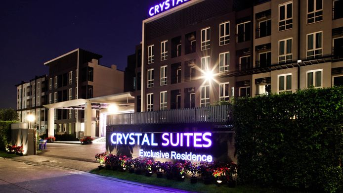 Exterior view Crystal Suites