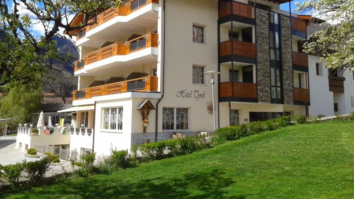 Exterior view Tyrol Hotel