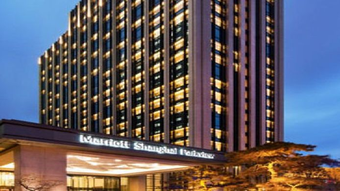 Exterior view Shanghai Marriott Hotel Parkview