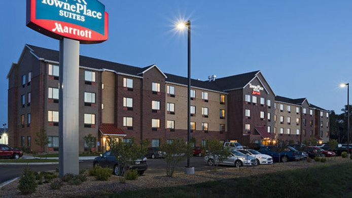 Exterior view TownePlace Suites Dodge City