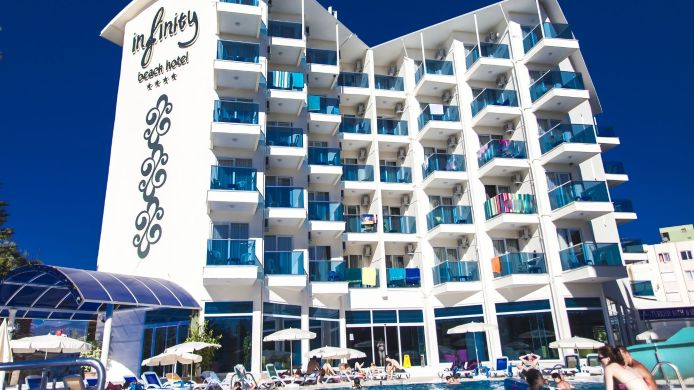 Exterior view Infinity Beach Hotel