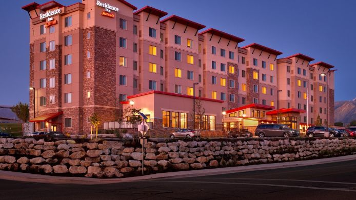 Exterior view Residence Inn Salt Lake City Murray
