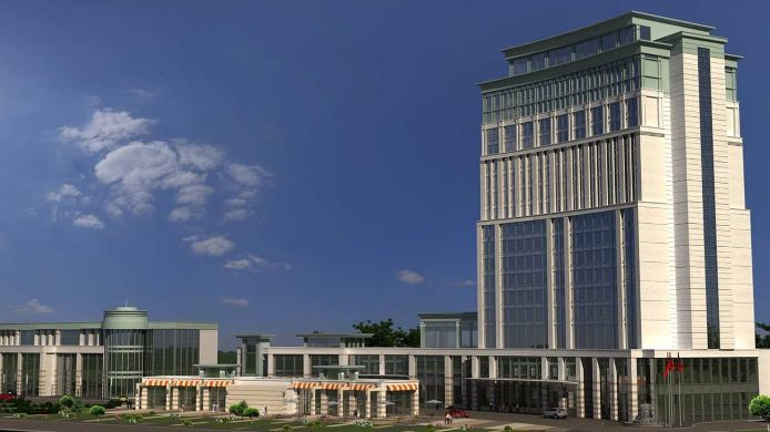 Exterior view DoubleTree by Hilton Malatya