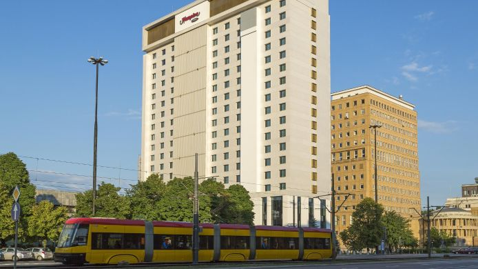 Buitenaanzicht Hampton by Hilton Warsaw City Centre