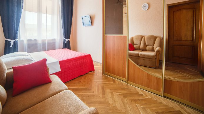 Double room (standard) Apartments Minsk24 Standart Апартаменты Минск 24 Стандарт