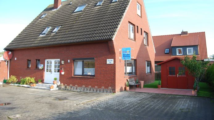 Exterior view Pension An der Reling