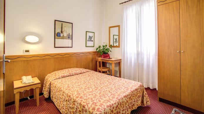 Single room (standard) Nuova Italia Hotel
