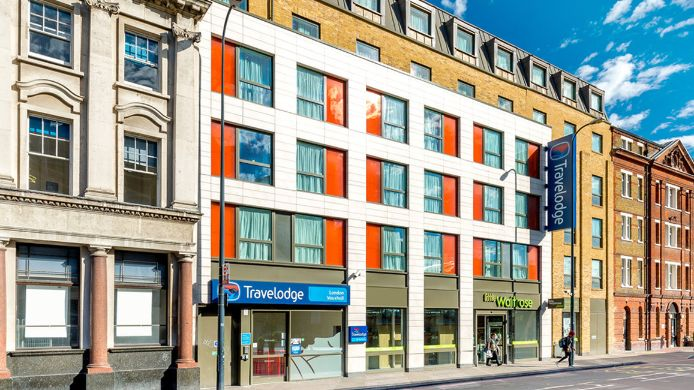 Exterior view TRAVELODGE LONDON VAUXHALL
