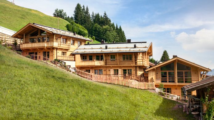 Exterior view HochLeger Chalets Deluxe