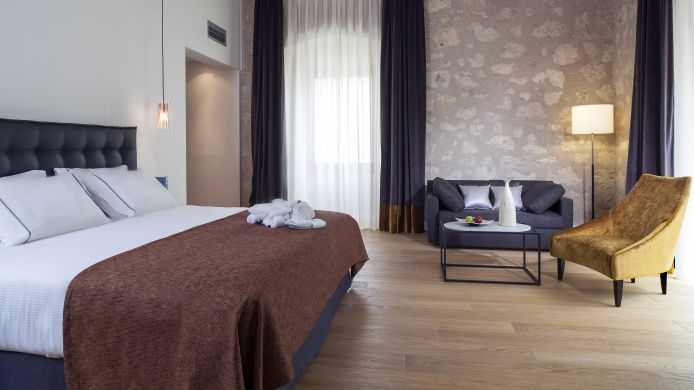 Double room (standard) Eurostars Convento Capuchinos