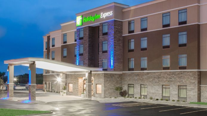 Exterior view Holiday Inn Express MOLINE - QUAD CITIES