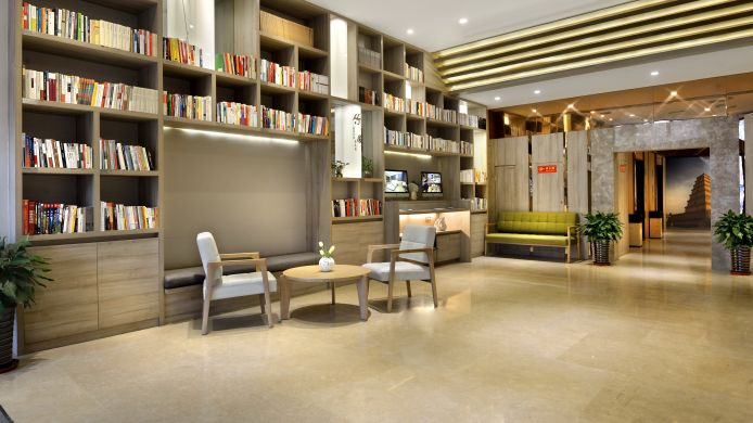 Reading room Atour Hotel Xi'an Yanta branch