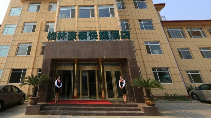 Exterior view Green Tree Penglai Pavilion Beiguan Road Express Hotel