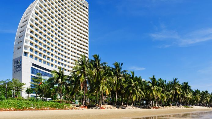 Exterior view Sanya Four Points by Sheraton Hainan