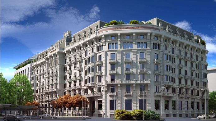 Exterior view Excelsior Hotel Gallia a Luxury Collection Hotel