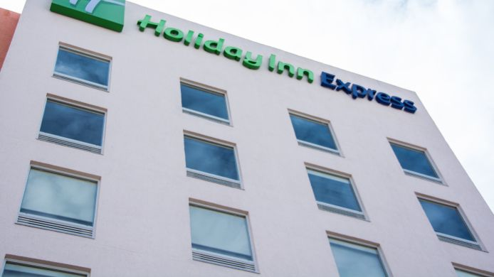 Exterior view Holiday Inn Express GUADALAJARA AEROPUERTO