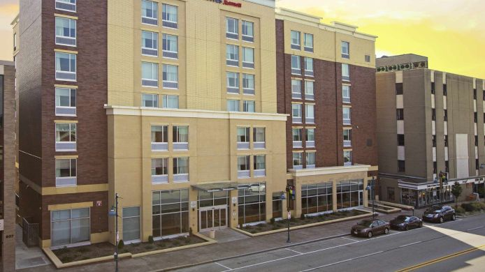 Exterior view SpringHill Suites Pittsburgh Mt. Lebanon