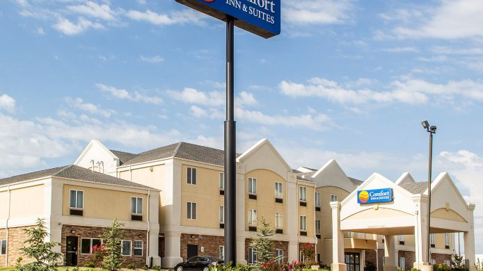 Exterior view Comfort Inn & Suites Perry