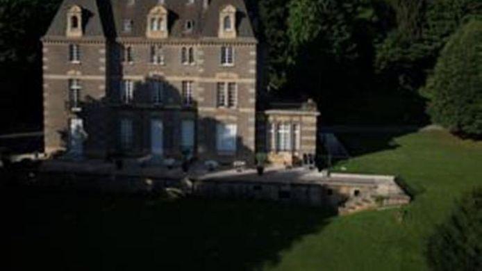 vue extrieure la demeure de la dame du fer - Chateau De Wendel Hayange Mariage