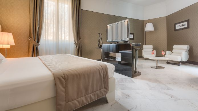 Business-Zimmer Grand Hotel Palace Rome