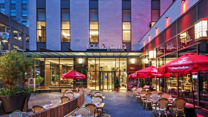 Widok zewnętrzny Four Points by Sheraton New York Downtown