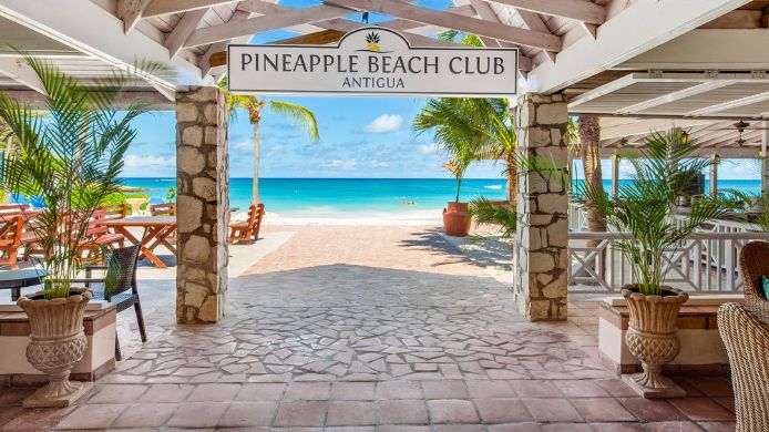 Außenansicht Pineapple Beach Club Antigua - All Inclusive - Adults Only