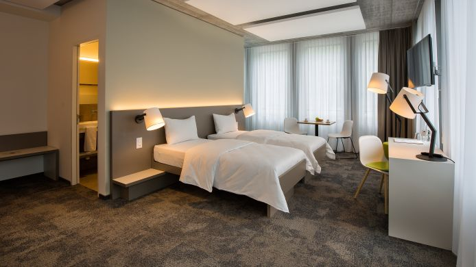 Junior Suite b_smart motel Landquart
