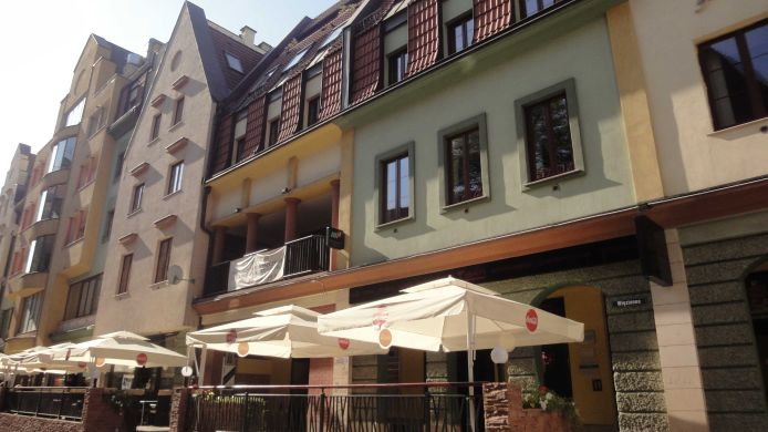 Exterior view 24W Alte Stadt Apartments