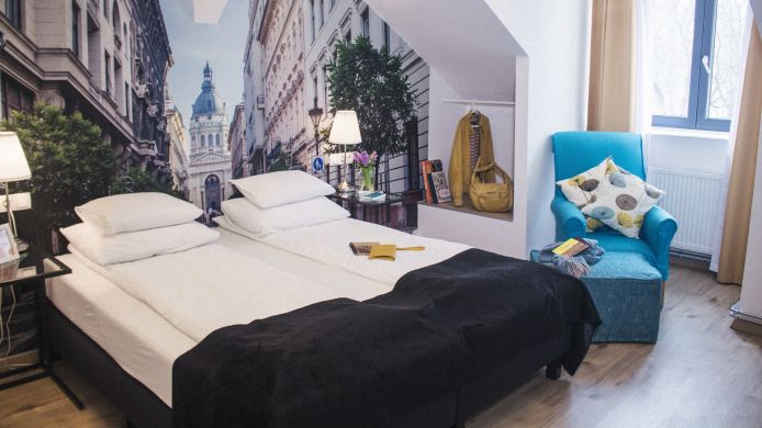 Pokój dwuosobowy (komfort) FIFTEEN Boutique Rooms  Budapest