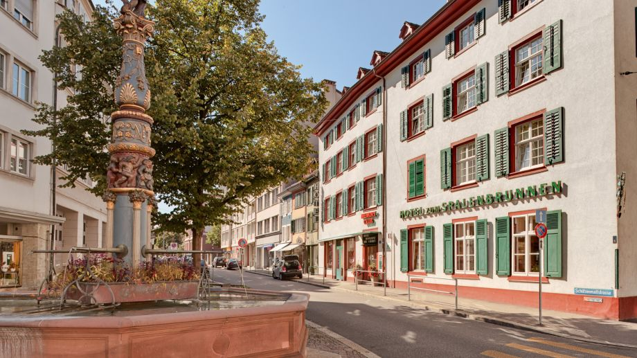 Hotel spalenbrunnen basel 3 sterne hotel for Hotelsuche familienzimmer