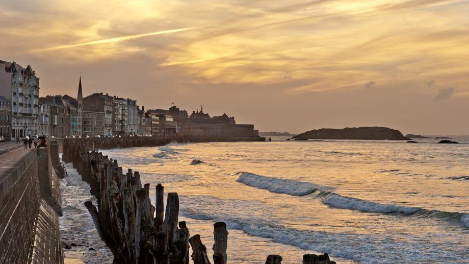 Saint-Malo, Le Sillon