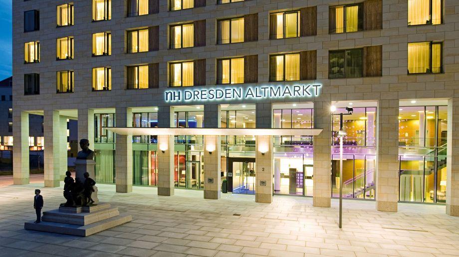 Hotel nh collection dresden altmarkt dresden 4 sterne for Hotelsuche dresden