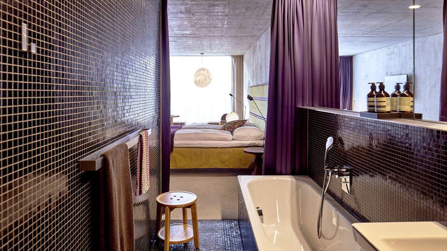 Hotel nomad design lifestyle basel 4 sterne hotel for Design budget hotel salinenparc 0 sterne