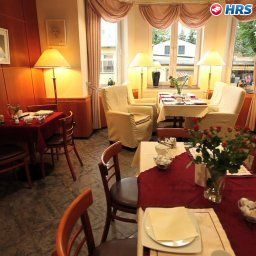 Restaurant/breakfast room Pension & Eiscafé am Weideweg Chemnitz (Sachsen)