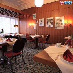 Breakfast room within restaurant Best Hotel Zeller