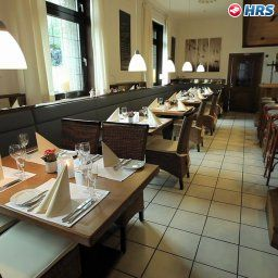 Breakfast room within restaurant Handelshof