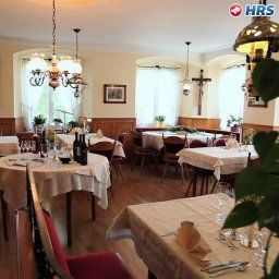 Breakfast room within restaurant Krone Waldburg
