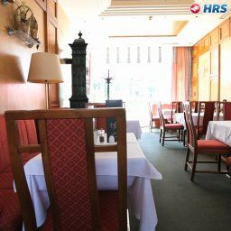 Breakfast room within restaurant Der Stasta