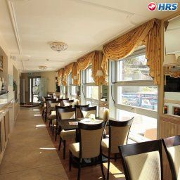 Breakfast room within restaurant Strandhotel Sassnitz