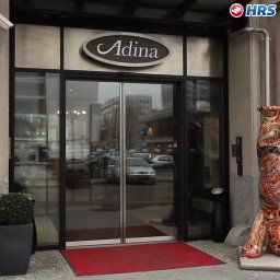 Фасад Adina Apartment Checkpoint Charlie