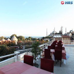 Breakfast room within restaurant Ares Hotel Sultanahmet