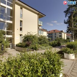 Exterior view Seehotel Binz Therme Appartments