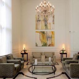 Hall de l'hôtel Comfort Suites Oscar Freire