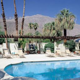 Basen AZURE SKY RESORT Palm Springs (California)