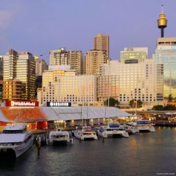 Exterior view Darling Harbour Four Points by Sheraton Sydney