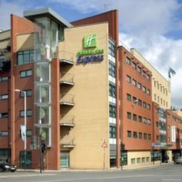 Vista esterna Holiday Inn Express GLASGOW - CITY CTR RIVERSIDE
