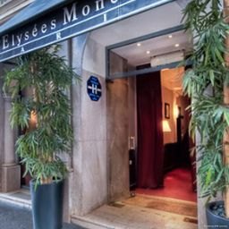 Exterior view BEST WESTERN Elysees Paris Monceau