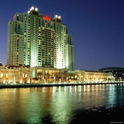 Фасад Tampa Marriott Waterside Hotel & Marina